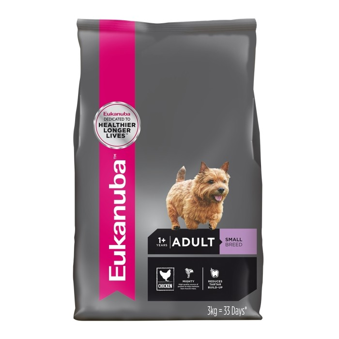 корм eukanuba small breed adult dog food