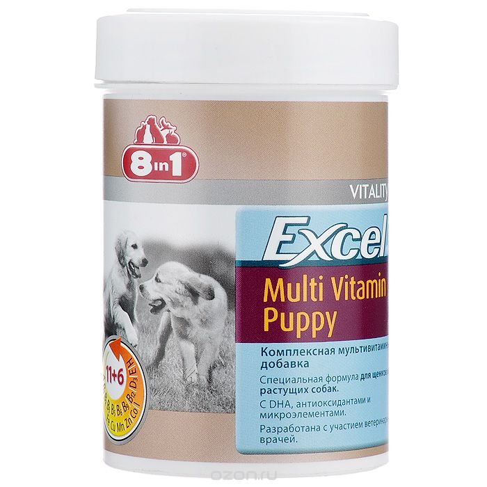 8 в 1 Excel Multi Vitamin Puppy