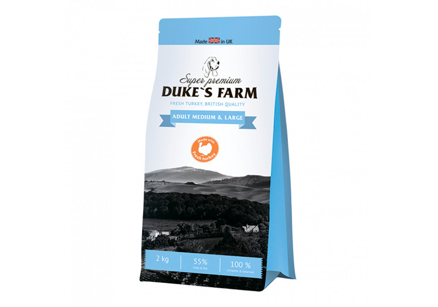 Корм для собак Dukes Farm Adult Medium