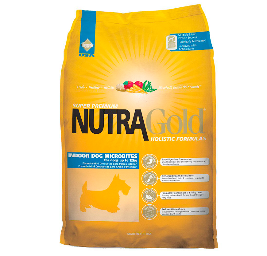 Корм Nutra Gold Holistic Indoor Dog Microbites