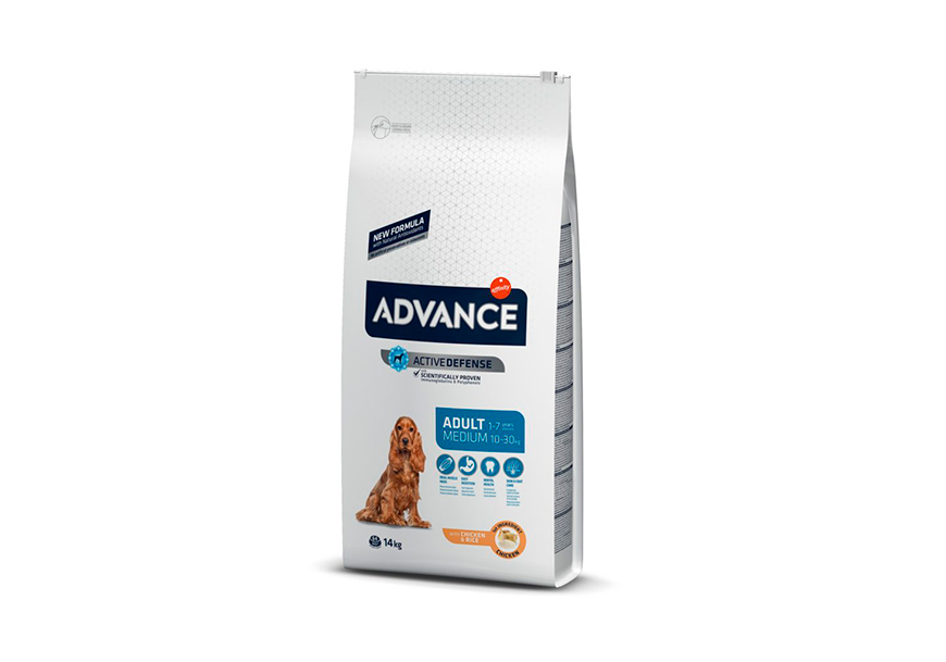 Корм для собак Advance medium adult