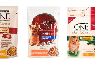 Корма Purina One для собак