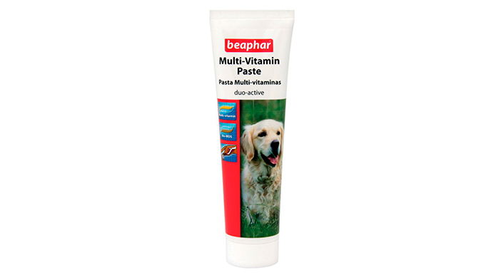 Beaphar duo-active paste for dogs - витаминная добавка для добермана